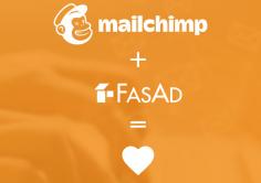 Mailchimp och FasAd integerat