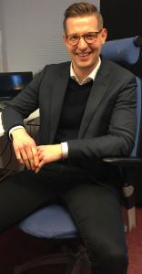 Lucas Martinsson är ny säljchef för FasAd-teamet.